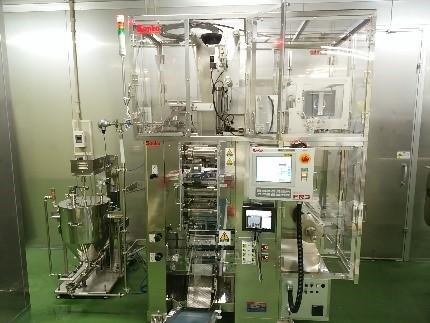 液体三方シール充填機