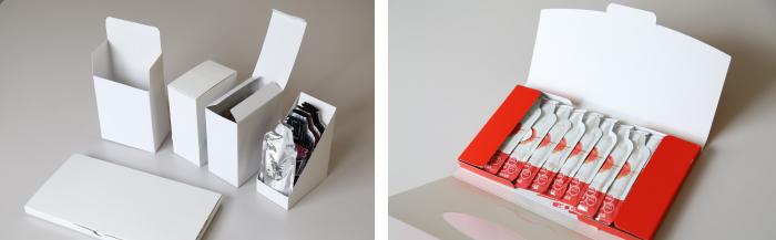 コンパクトな輸送に最適な薄型の箱(厚み:1~2cm)に包装することも可能