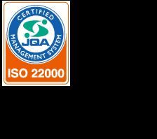 ISO22000取得、GMP適合認定
