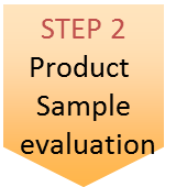 STEP 2 Priduct Sample evaluation