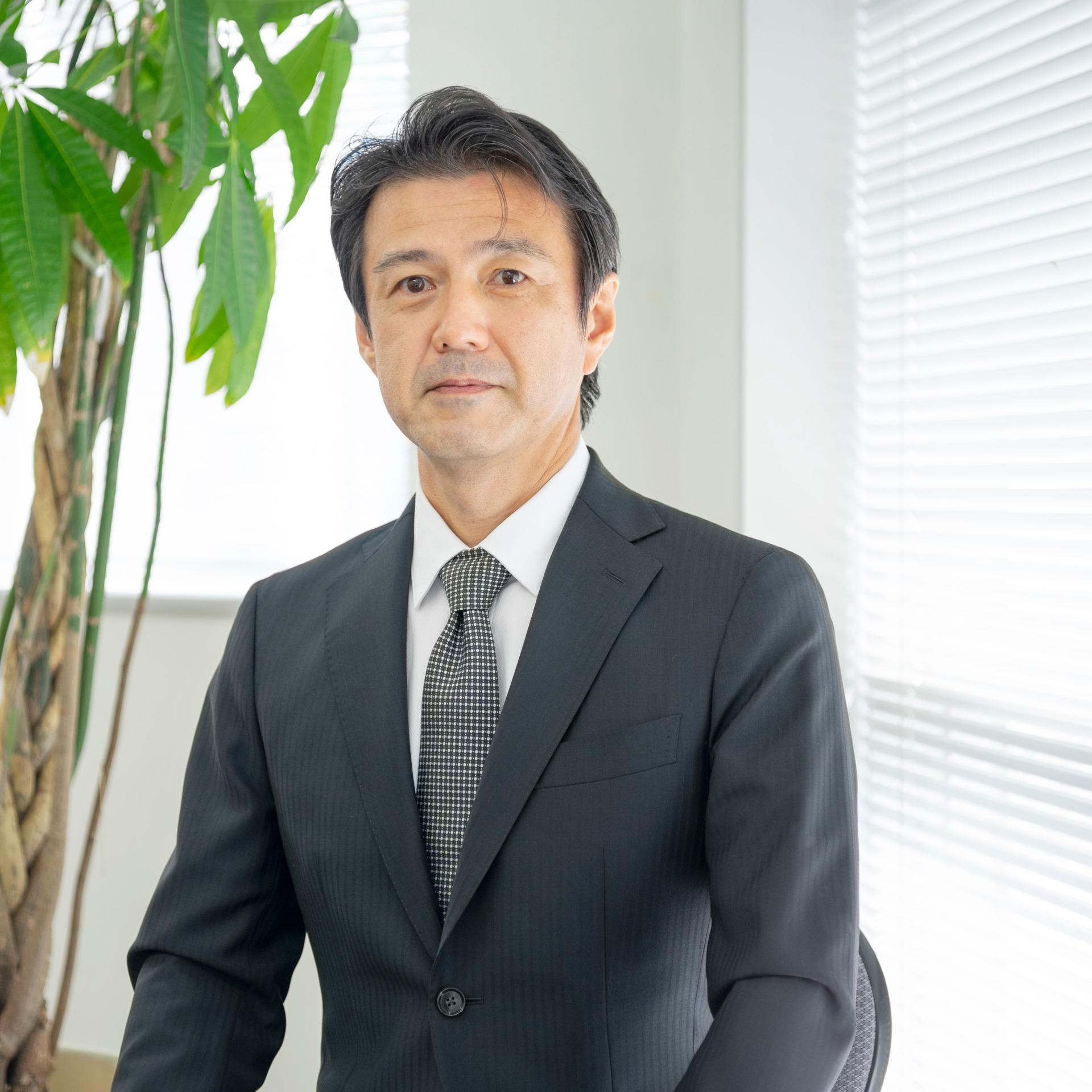 恩田社長ポートレート